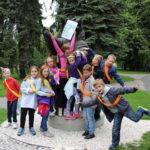 Urodziny dla dzieci w Krakowie - zabawa w parku