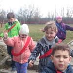 Wycieczka do parku w Krakowie podczas urodzin dla dzieci