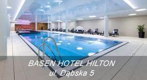 Nauka pływania w hotelu Hilton w Krakowie