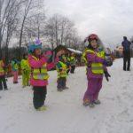 Rozgrzewka na obozie narciarskim