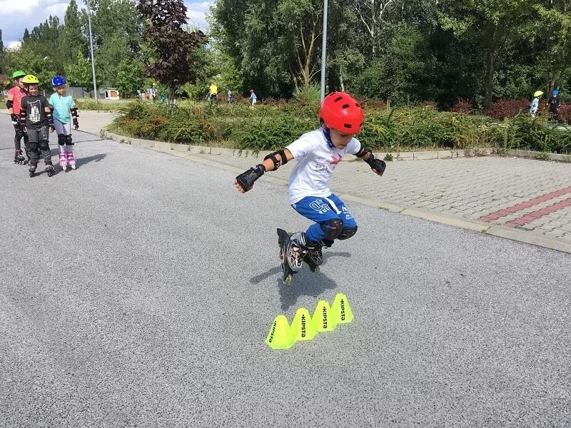 Doskonalenie nauki jazdy na rolkach w Krakowie