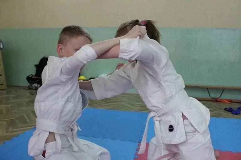 Judo dla dzieci - trening walki
