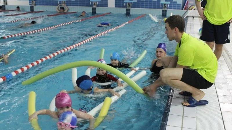 Nauka pływania w Krakowie dla najmłodszych