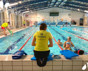 Nauka pływania w Krakowie - basen Uniwersytetu Pedagogiczne