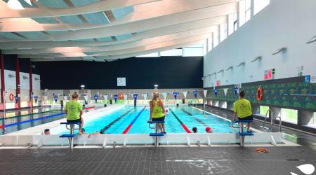 Basen przy SP 155 - nauka pływania Kraków