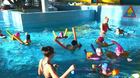 Basen w Parku Wodnym Kraków - nauka pływania